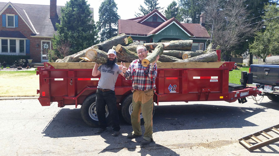Wood Clean-Up in Mansfield OH